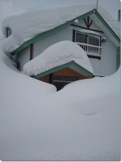 外屋事務所 豪雪
