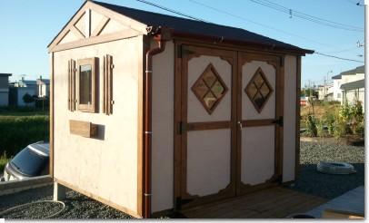 22)シンプルホーム物置特注塗り壁バージョン.jpg