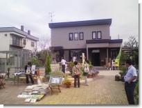 丸藤造園さんフェア開催中.JPG
