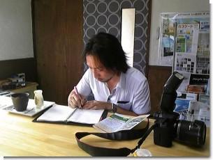 岩見沢新聞取材0814.JPG