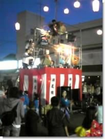 盆踊り太鼓本番.JPG